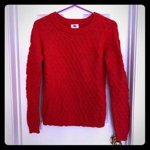 Old Navy Cable Sweater Size S